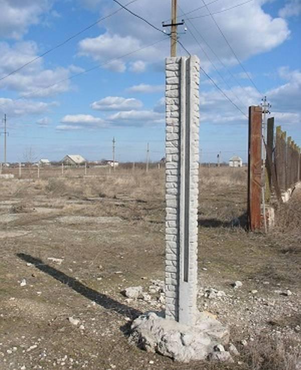 Изготовить бетонные столбы