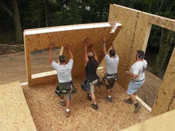 Сэндвич панели построить дом своими руками