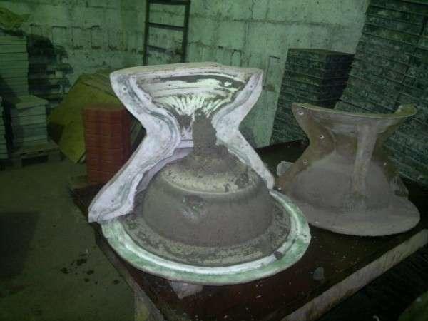 Фигуры из бетона: изготовление формы Заливка и обработка