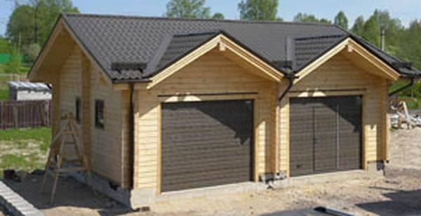 Как построить гараж своими руками начинающему строителю