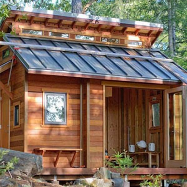 Загородный домик своими руками фото 40