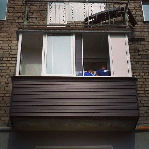 Фото балкона хрущевки своими руками