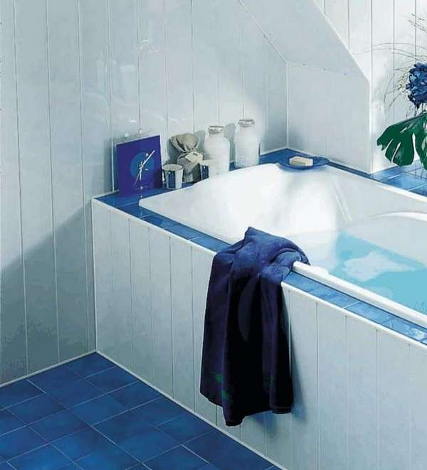 Отделка стен в ванной комнате панелями пвх своими руками 58