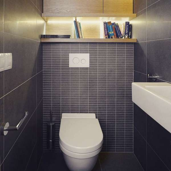 Идея для туалета в хрущевке фото
