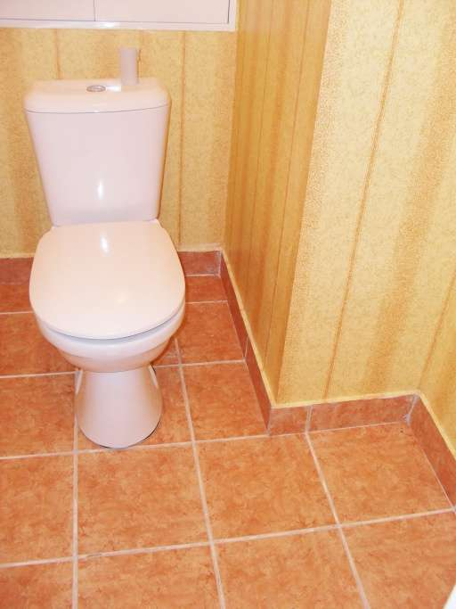 Ремонт в туалете своими руками фото панелями